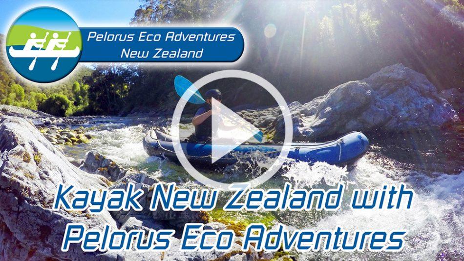 Hobbit Kayak Tour New Zealand Pelorus Eco Adventures