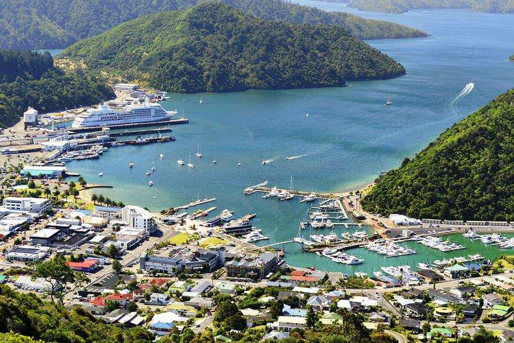 Cruise Ship Visit in Marlborough Sounds