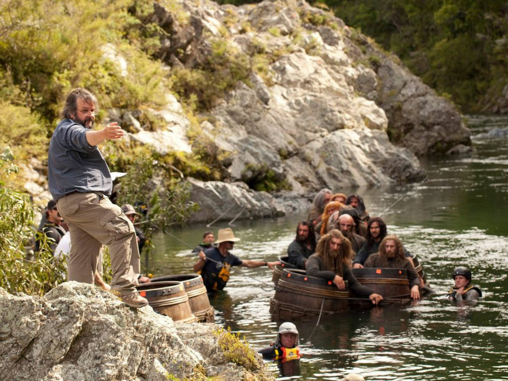 Barrel Run Scene The Hobbit Kayak New Zealand