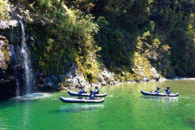 Falls Pelorus River New Zealand
