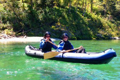 Friends Kayaking New Zealand-1