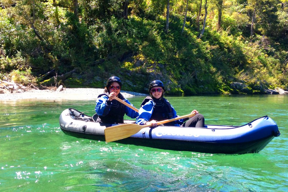 Friends Kayaking New Zealand-1