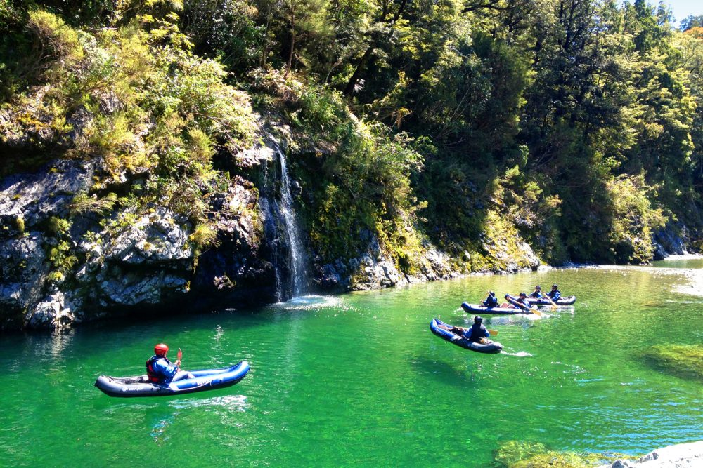 Guided Kayaking New Zealand