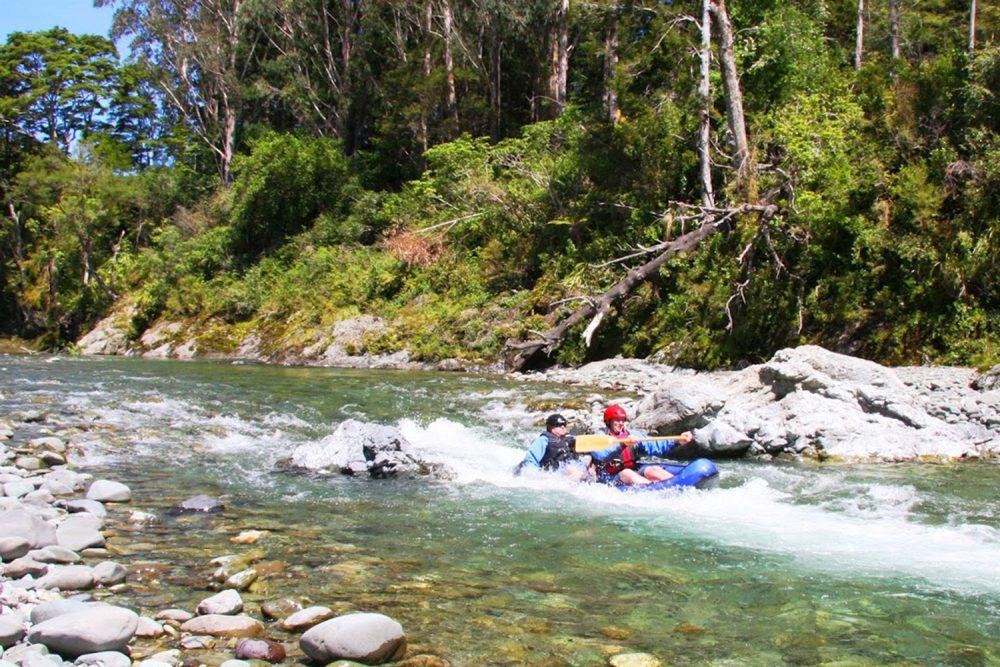 Hydraulic Jump Kayaking New Zealand