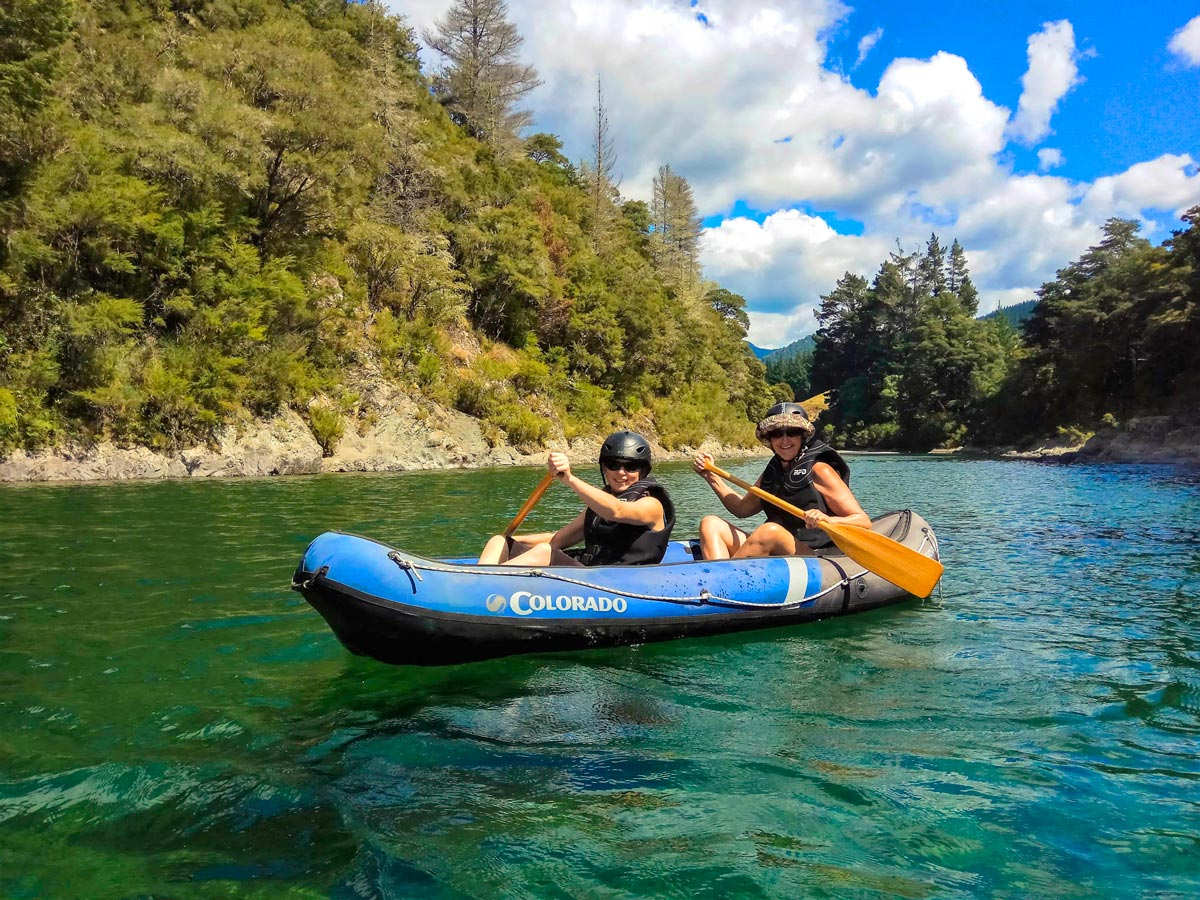 Kayak New Zealand Family Tour