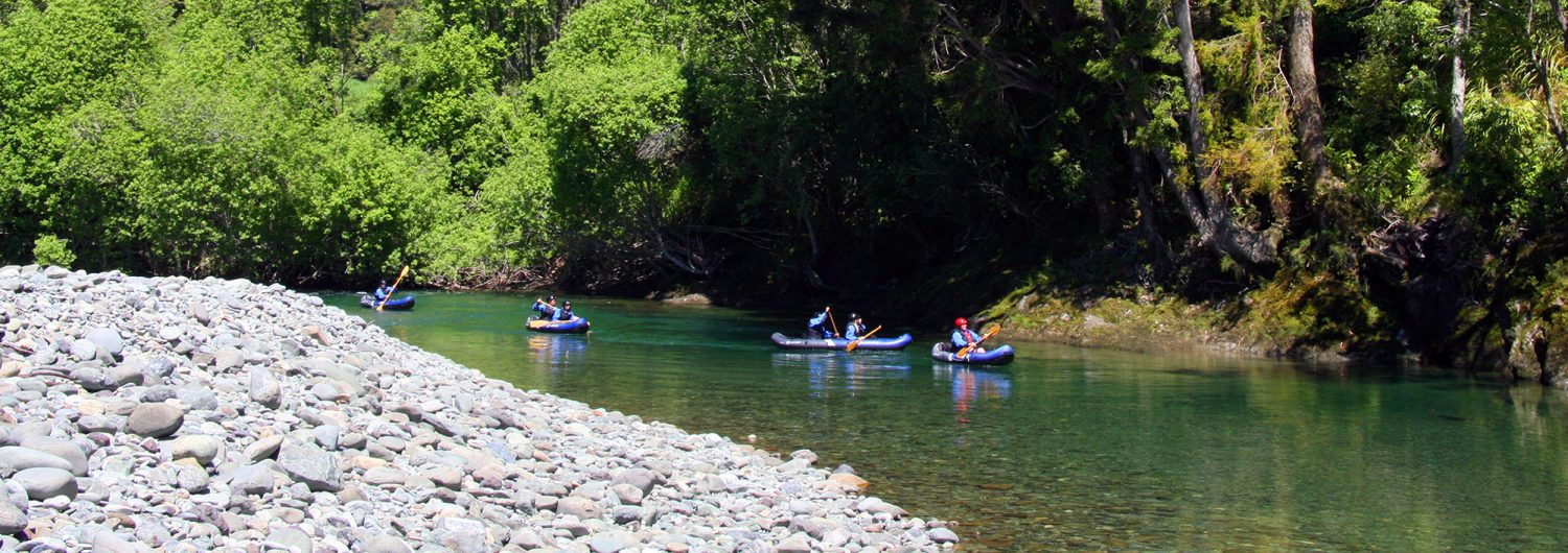 Kayak New Zealand Footer