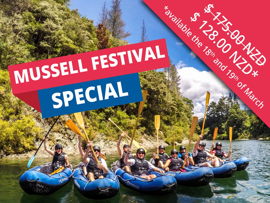 Kayak New Zealand Special Mussel