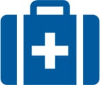 The Hobbit Kayak Tour New Zealand First Aid Kit Icon
