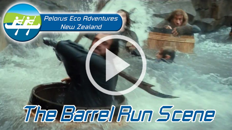 Kayak New Zealand Barrel Run