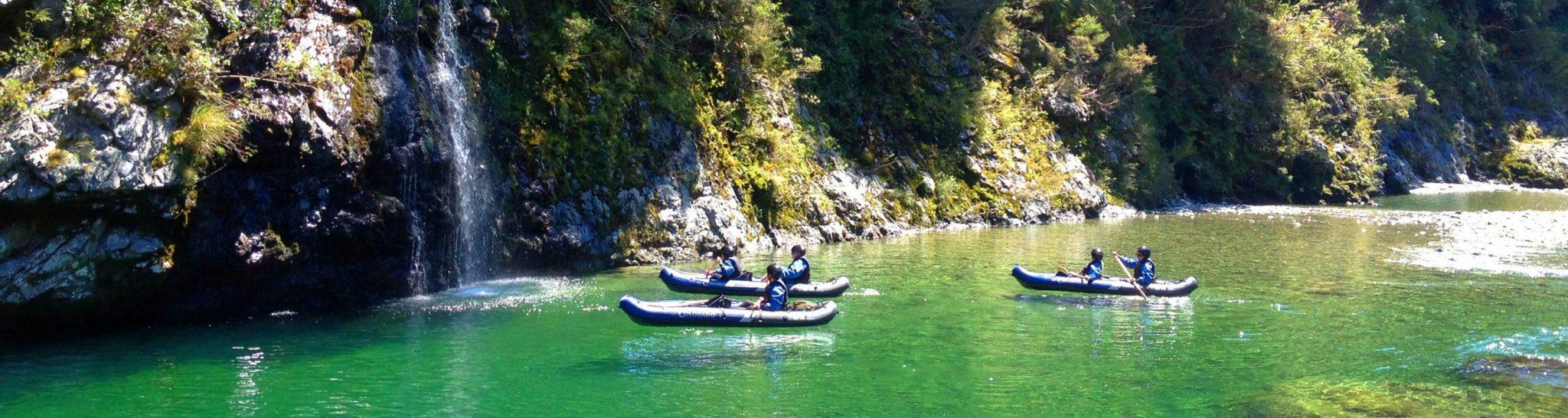 Hobbit Kayak Tour New Zealand Header