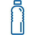 The Hobbit Kayak Tour New Zealand Water Bottle Icon
