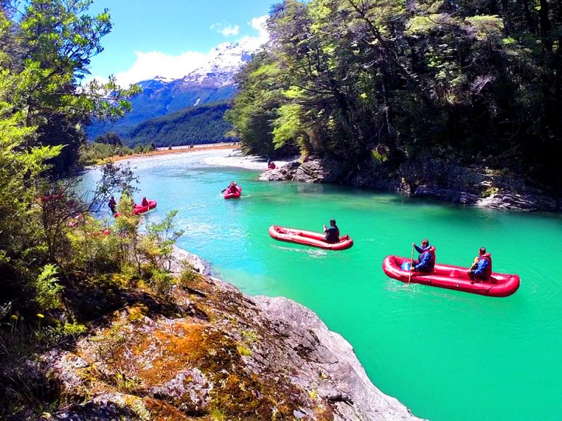 Best Kayaking Tours New Zealand Dart River