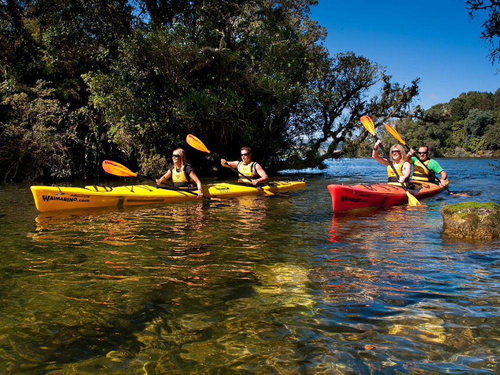Best Kayaking Tours New Zealand Lake Mclaren