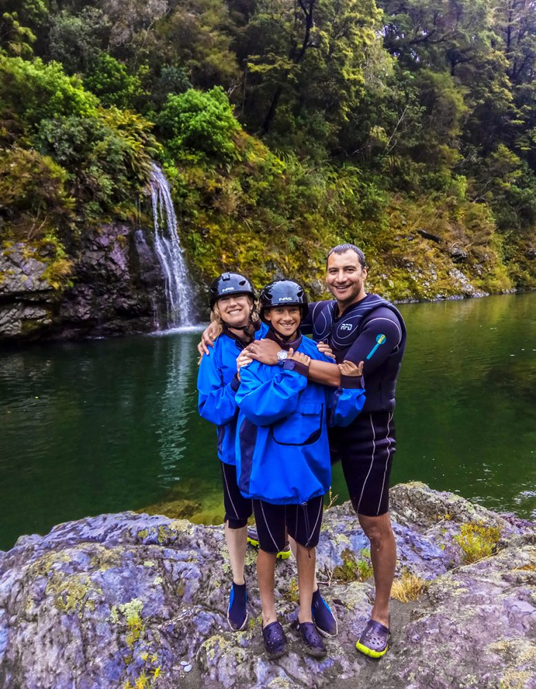 Group Kayak Tour New Zealand