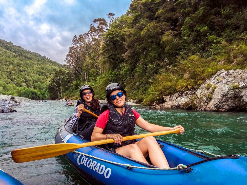 Kayak Pelorus River Hobbit Tour