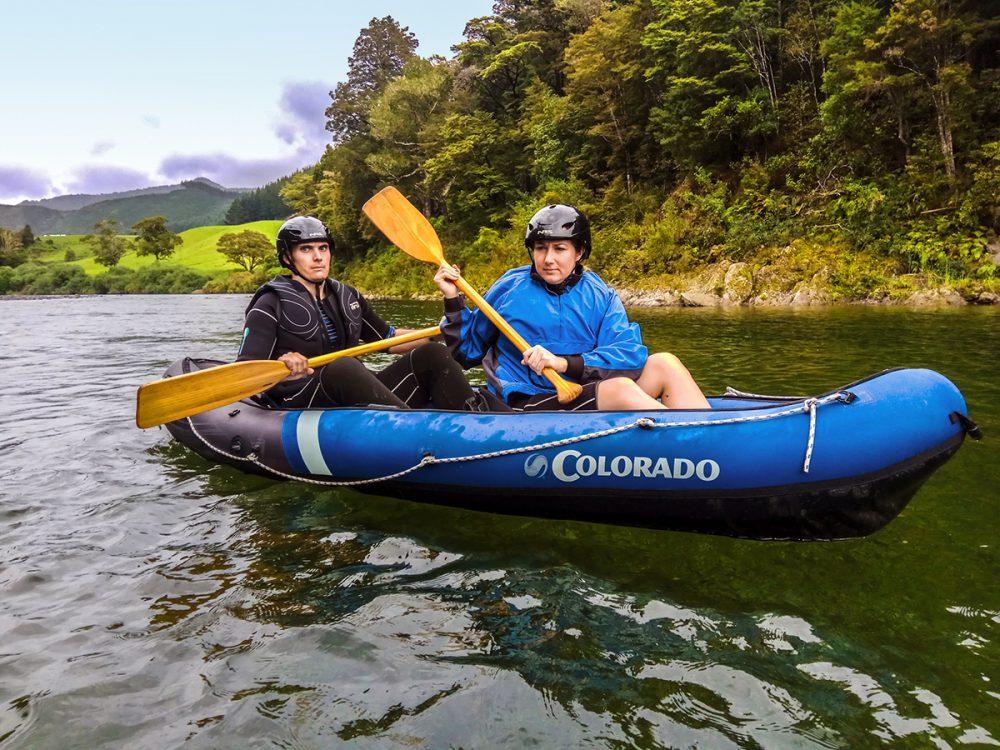 River Kayaking Tour New Zealand