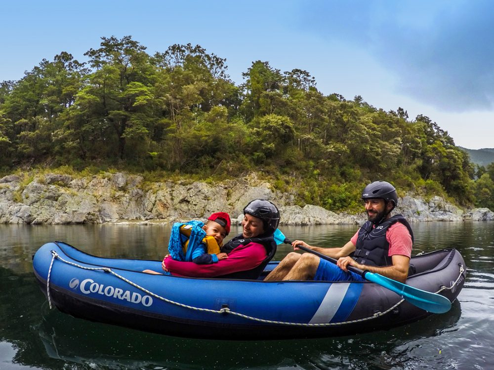 Family Kayaking Adventure in New Zealand