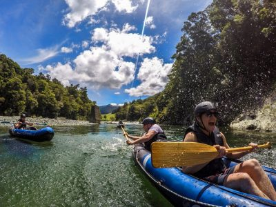 Fun Kayaking Adventure in New Zealand