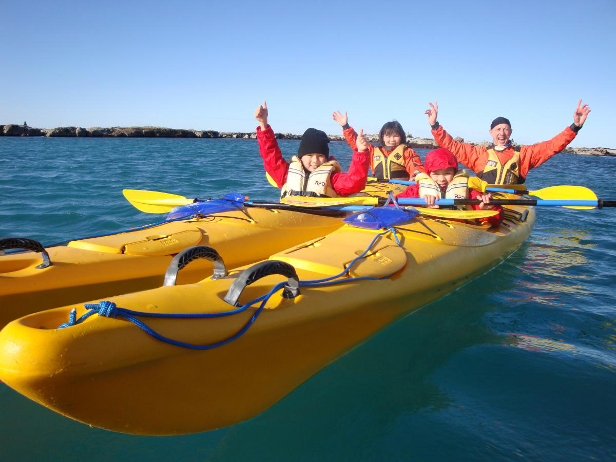 Family Kayak Tour Kaikoura