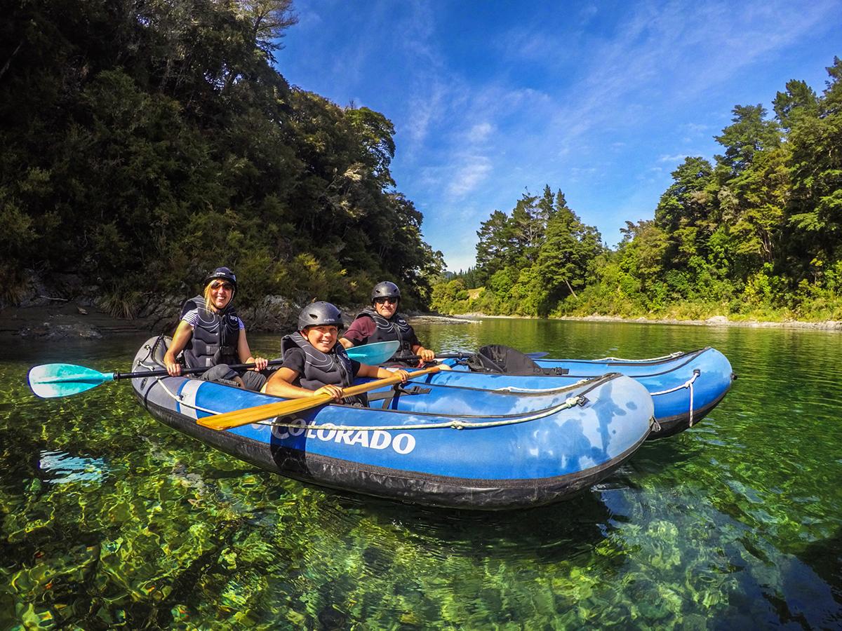 Family Kayaking Tour Pelorus River