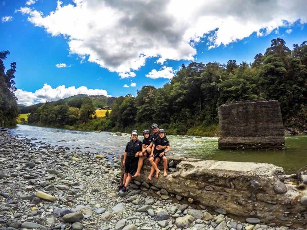 Family Hobbit Kayak Tour NZ