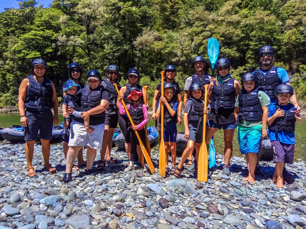 Kayaking Group New Zealand
