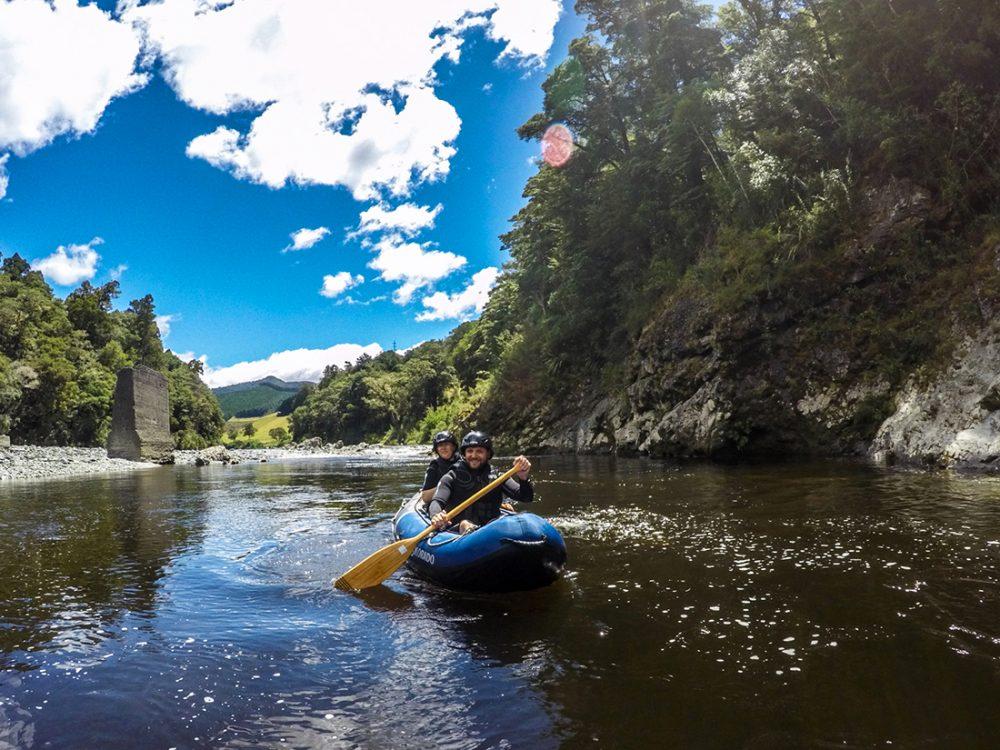 Kayaking Hobbit Tour New Zealand