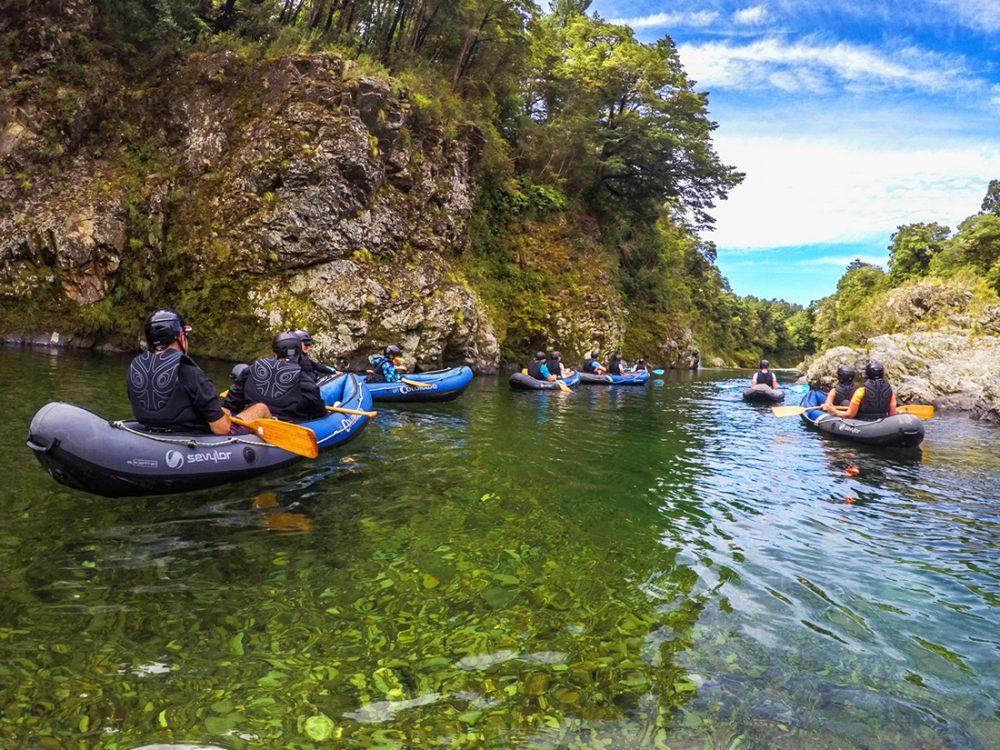 Kayaking New Zealand