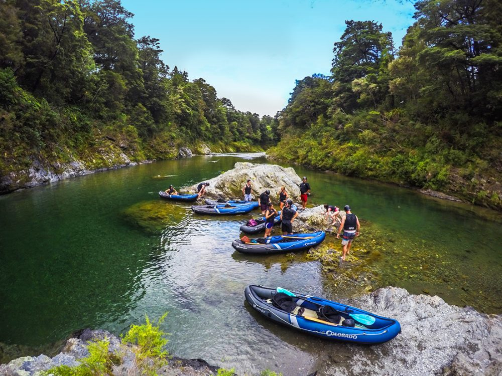 New Zealand Kayaking Tour