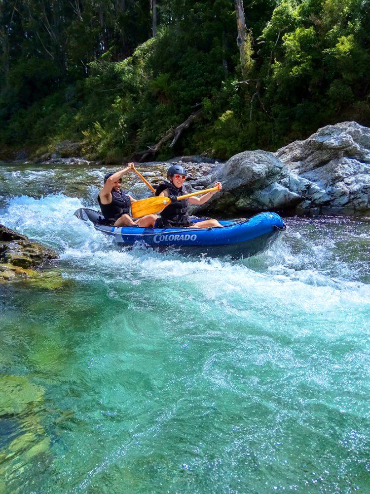 River Kayaking New Zealand