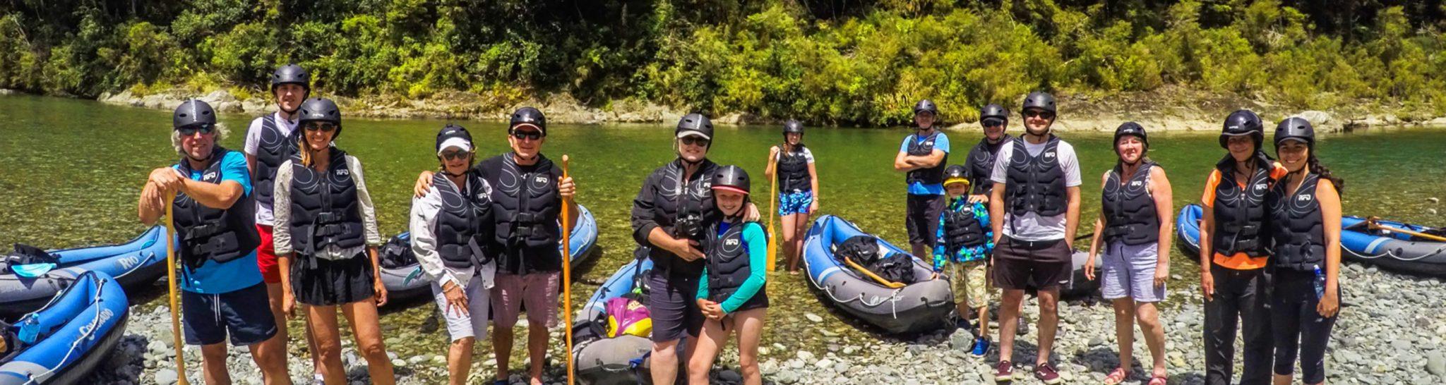 New Zealand Kayak Pictures Header