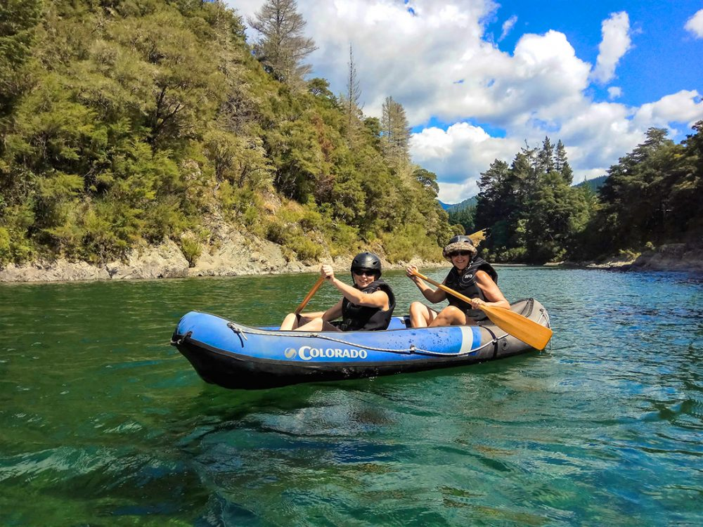 Family Kayak Tour New Zealand