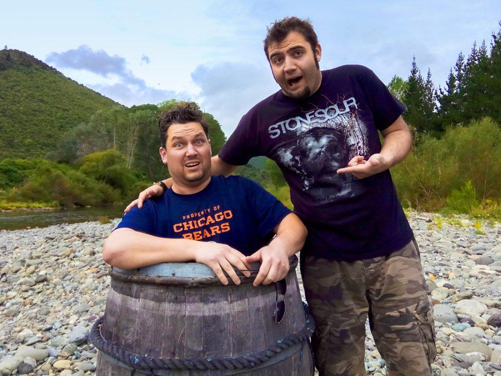Barrel Run, The Hobbit New Zealand