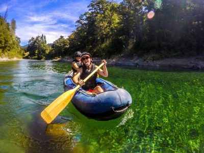 Fun Kayaking Tour in New Zealand