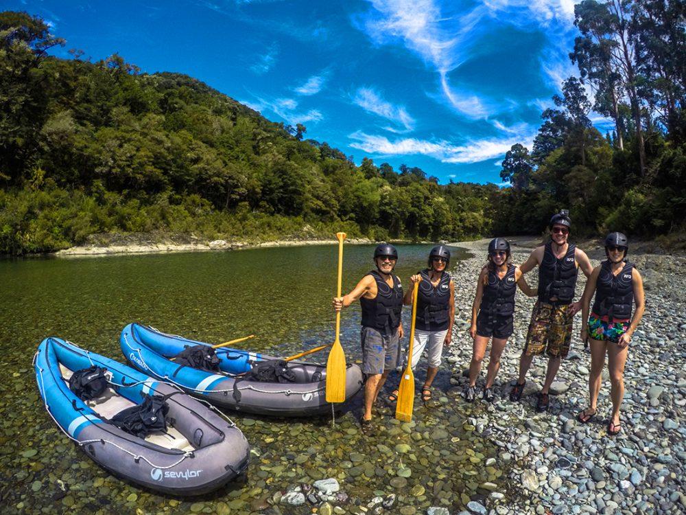 Group of Kayakers at Pelorus River