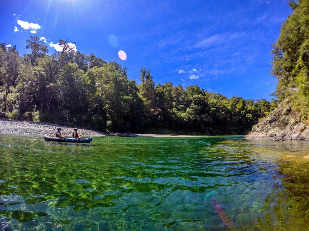 Kayak Tour Pelorus River NZ