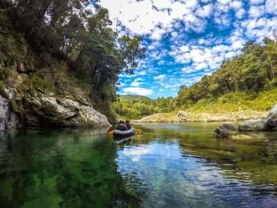 Kayaking Pelorus River New Zealand