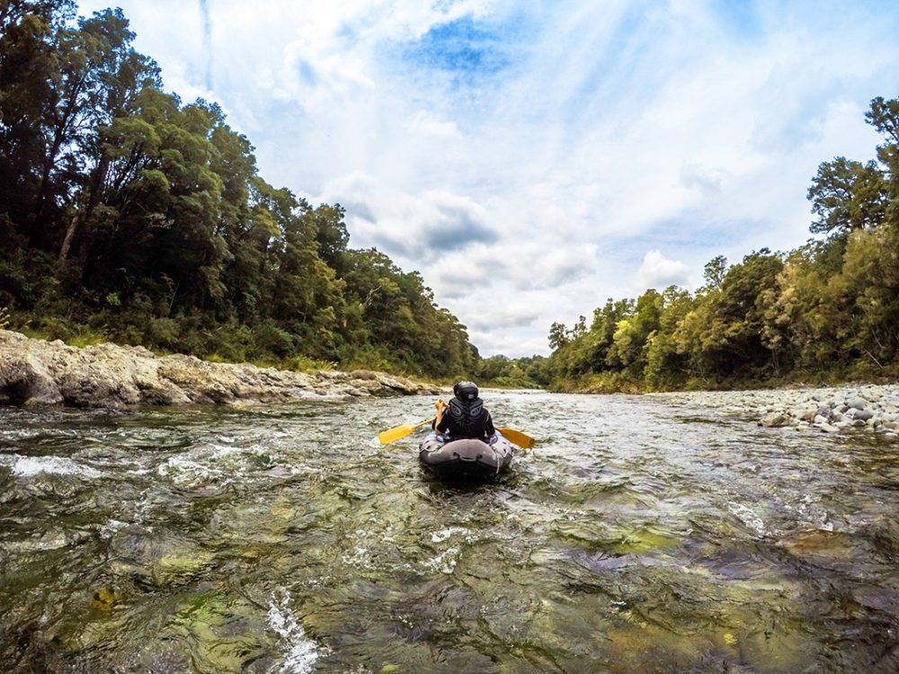 River Kayaking New Zealand