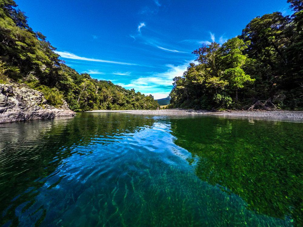 Pelorus River Havelock New Zealand