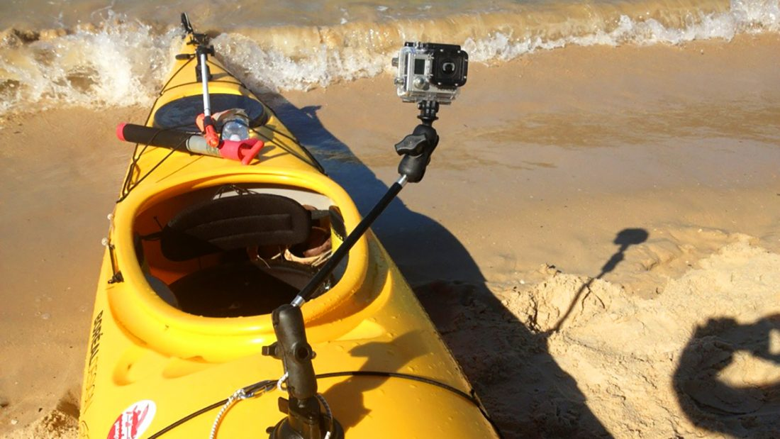 Kayaking Gear Equipment New Zealand Camera