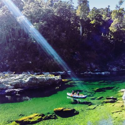 Kayaking Beautiful Pelorus River NZ