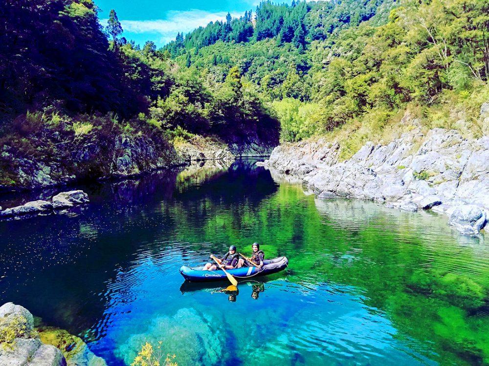 Kayaking Tour New Zealand Pelorus