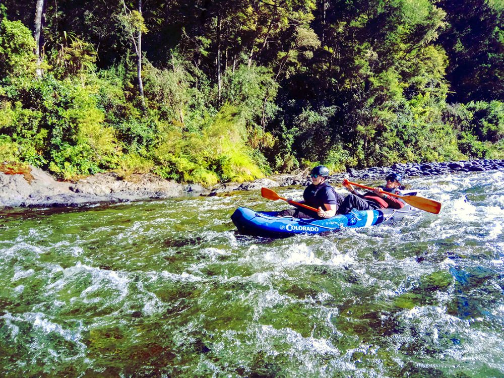 Kayaking Tour New Zealand NZ