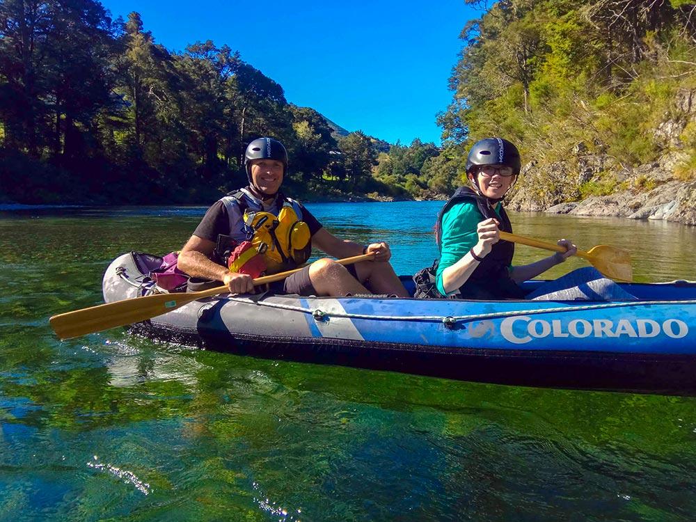 Family Hobbit Kayak Tour Havelock