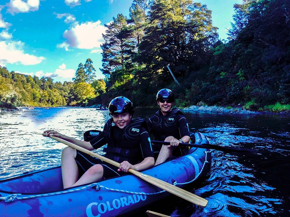 Family Kayaking Tour New Zealand