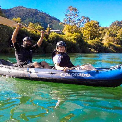 Fun Kayaking Trip New Zealand