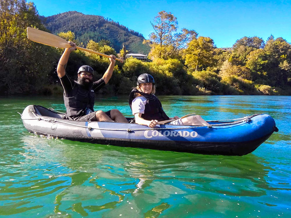 Fun Kayaking Trip New Zealand