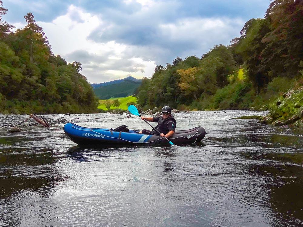 Kayak Tour Pelorus River New Zealand