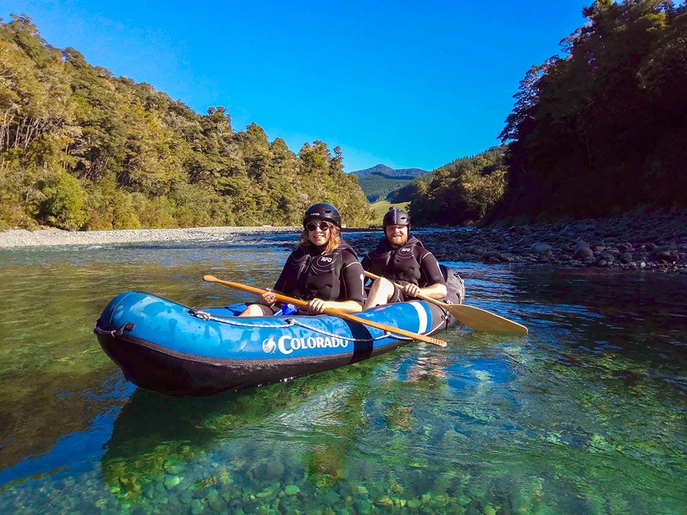 Kayaking Pelorus River Hobbit Tour