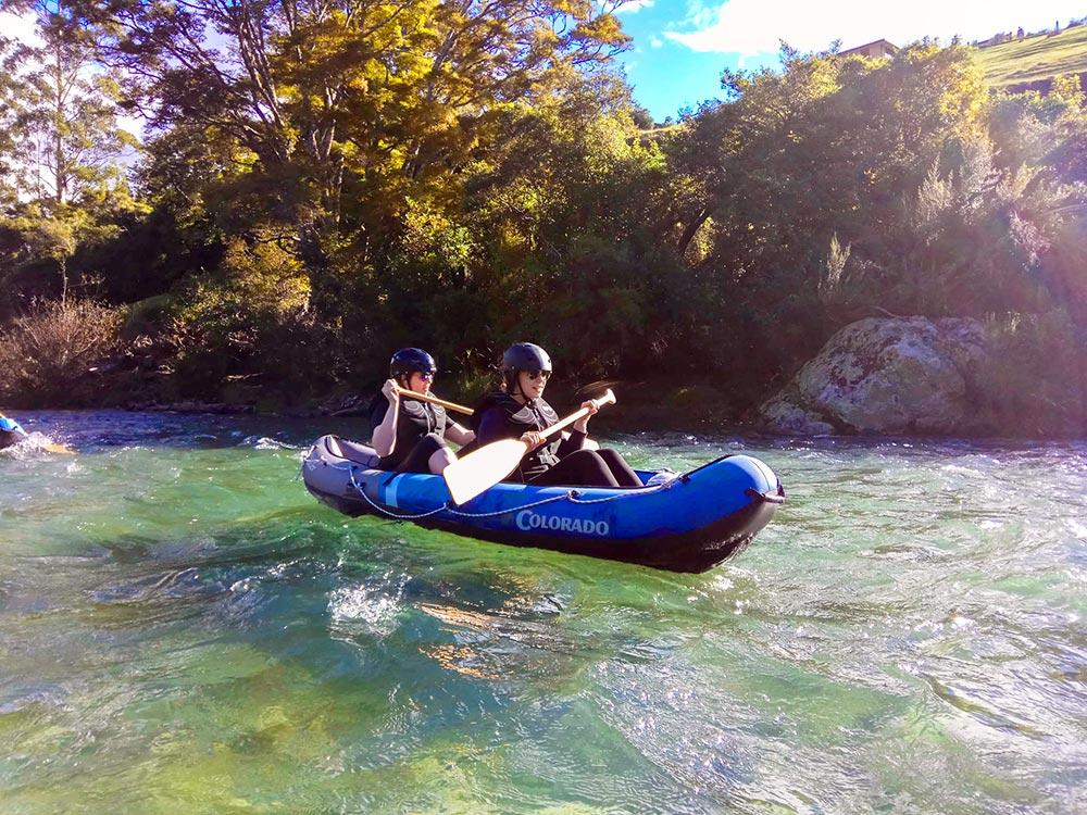Kayaking Pelorus River New Zealand